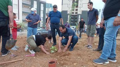 Photo of حملة تشجير بحي 1257+256 مسكن ترقوي عمومي بأولاد فايت.