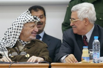 Image result for Arafat and Abbas