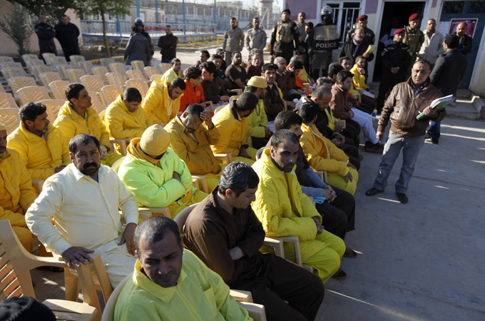 Freed Iraqi Prisoners