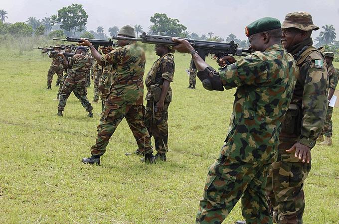 Nigerian Army training, ozara gossip