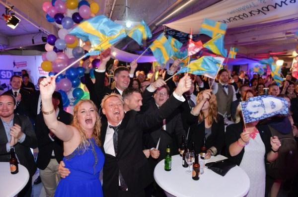 SWEDISH LEFT-WING BLOC WINS ELECTION
