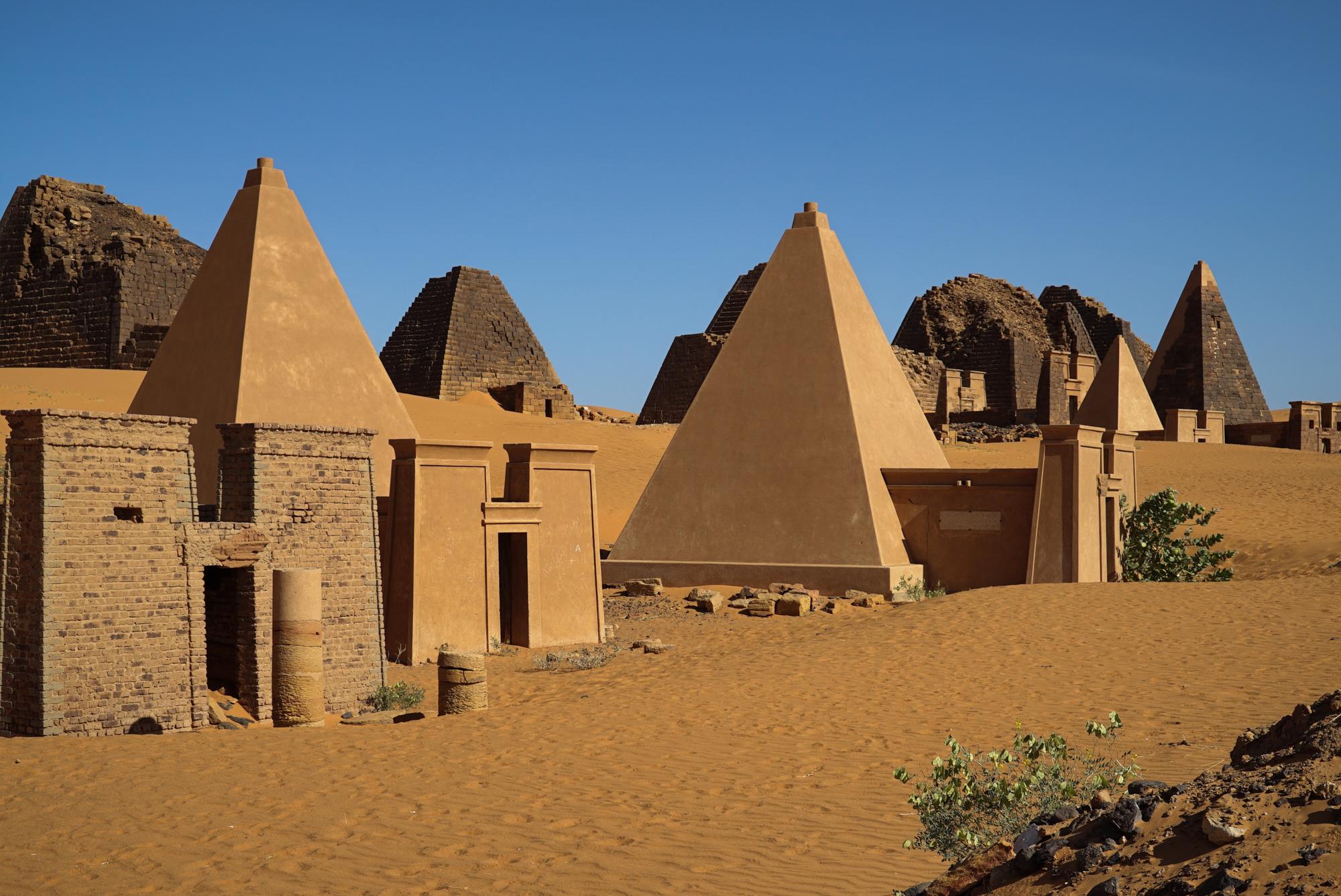 Image result for sudan pyramids