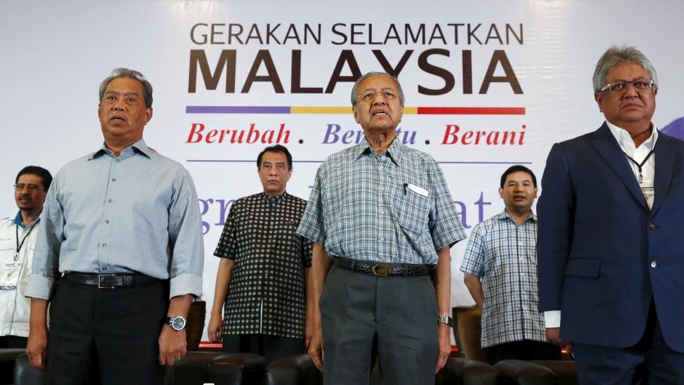Image result for Mahathir takes on Najib razak
