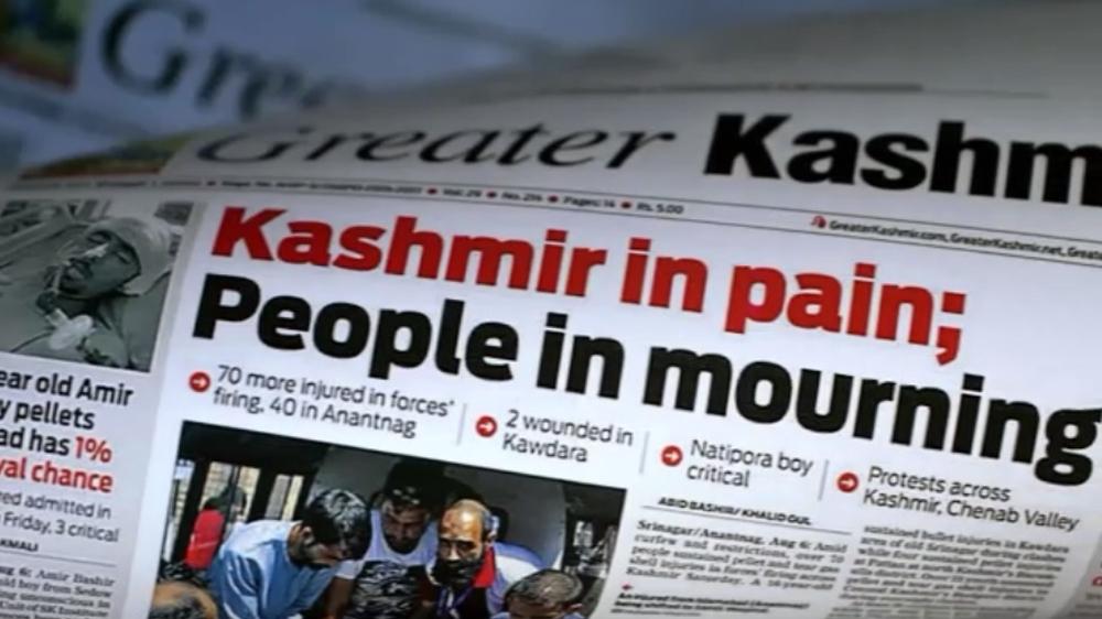Image result for Indian Media at War  Kashmiris