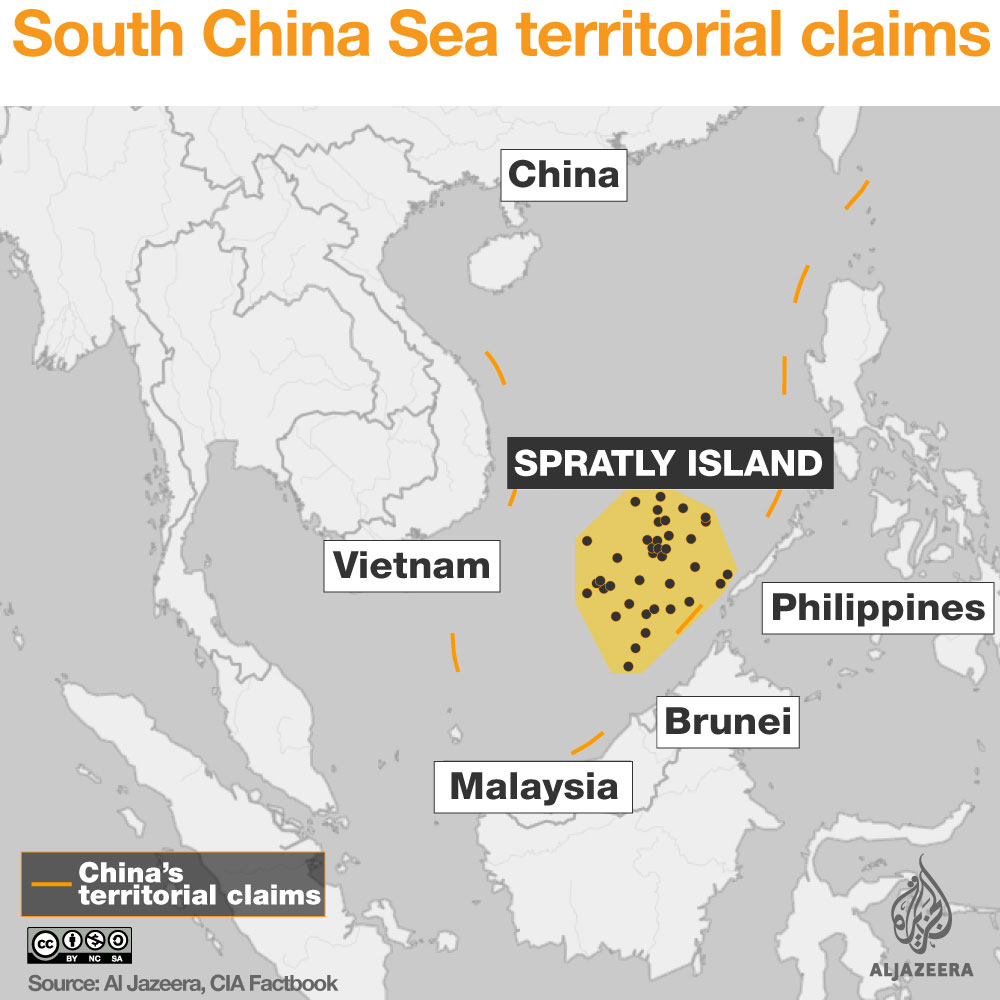 south china sea spratly islands claims infographic map