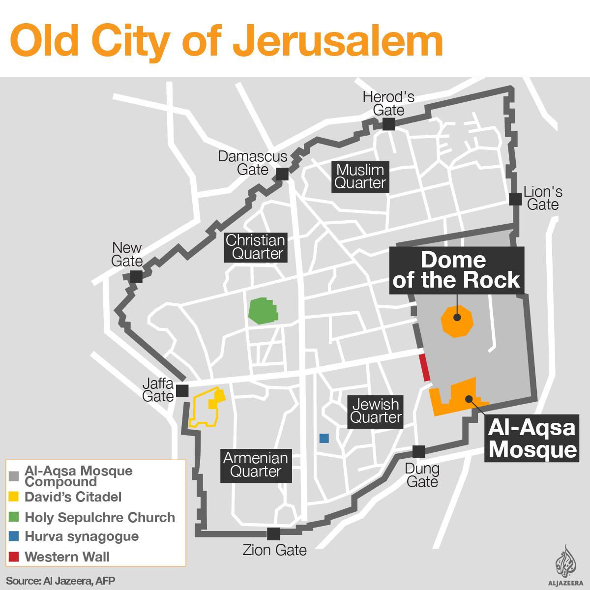 Al Aqsa And The Old City Of Jerusalem
