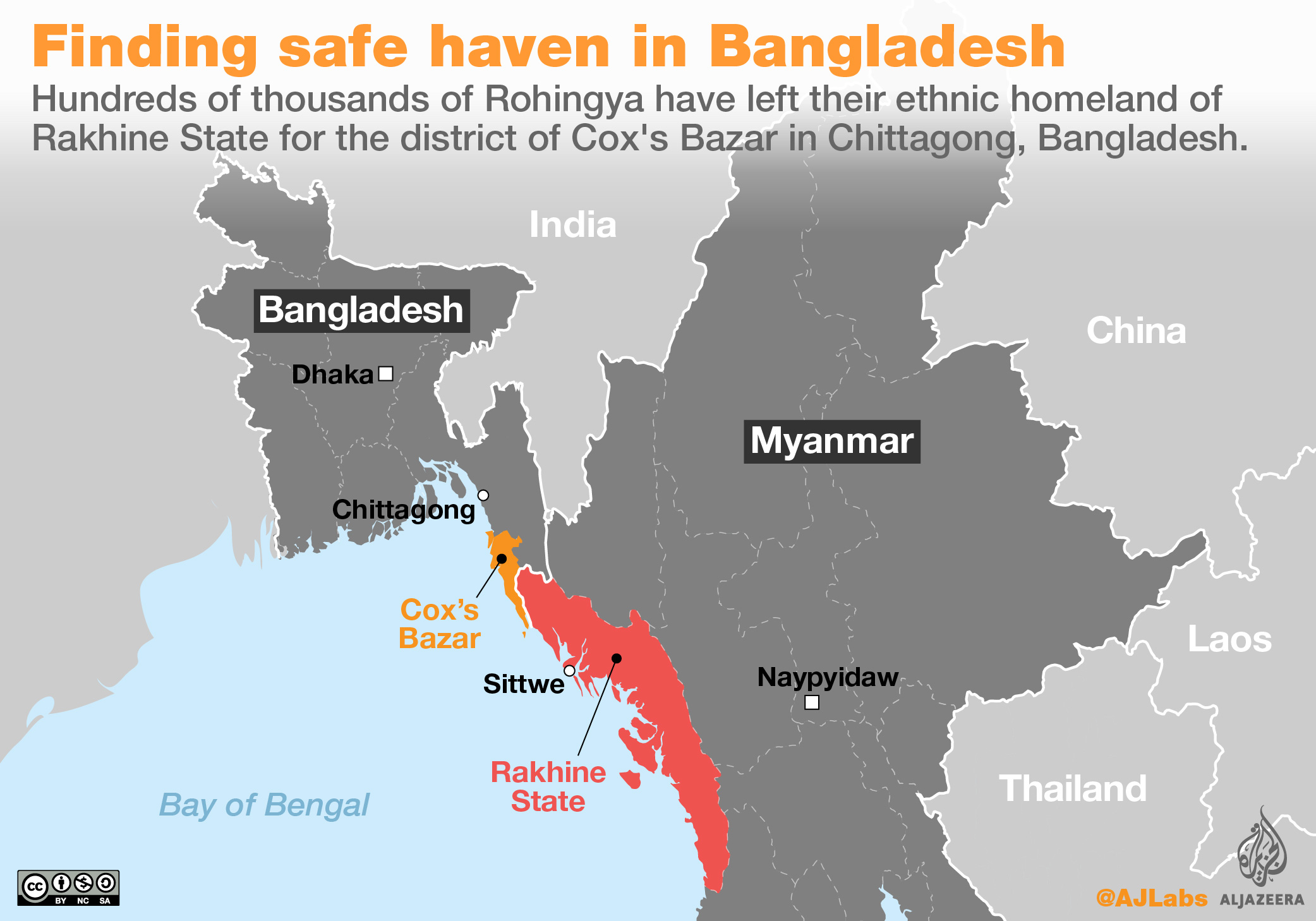 Rohingya location