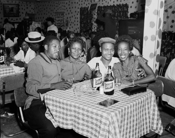 Revelers at a table in a Dallas nightclub in 1955. Hickman, like Littlejohn, continued for decades photographing his changing community. Hickman died in Dallas on 1 December 2007, while Littlejohn died at his home in Fort Worth on 6 September 1993. Thanks to their combined images, the richness and complexity of Black life and culture during a pivotal time in America's history lives on. [RC Hickman; RC Hickman Photographic Archive, Briscoe Center for American History]