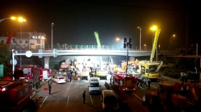Collapse - China bridge
