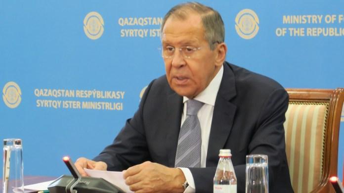 Russian Foreign Minister Lavrov in Nursultan