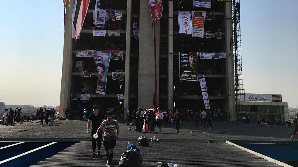 the Turkish restaurant tower [Sofia Barbarani/Al jazeera]