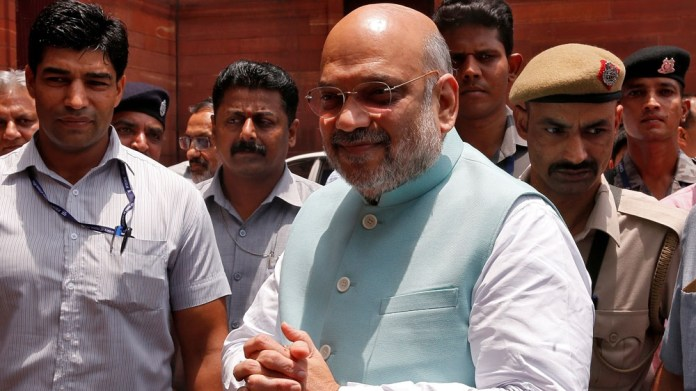 India's Home Minister Amit Shah