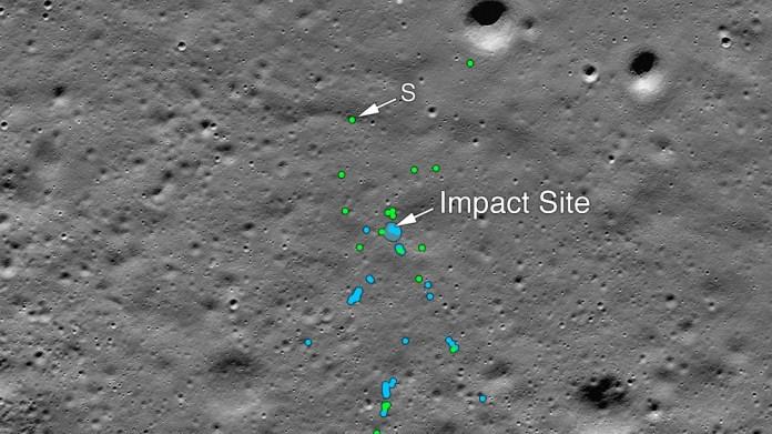 NASA IMAGE OF VIKRAM FOUND 1