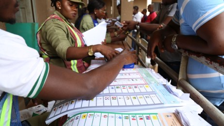Bildergebnis für Nigerians Vote Today in Governor Elections