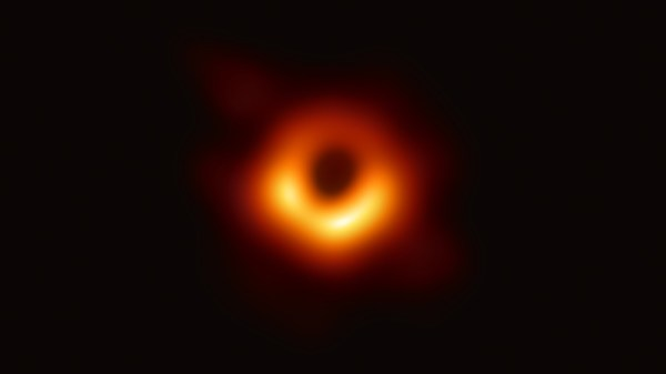 Astronomers capture first-ever image of a black hole ...