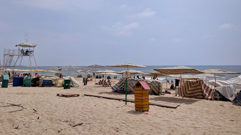 Beirut's last public beach
