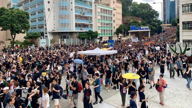 Hong Kong protest 2 [Casey Quackenbush/Al Jazeera]