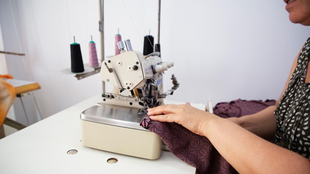 Romanian garment workers