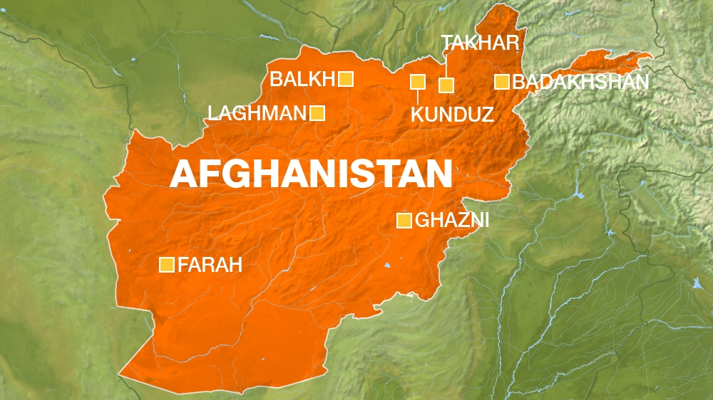 fighting in afghanistan map