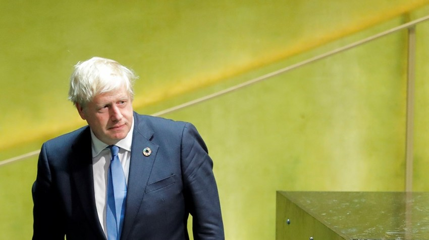 UN Boris Johnson