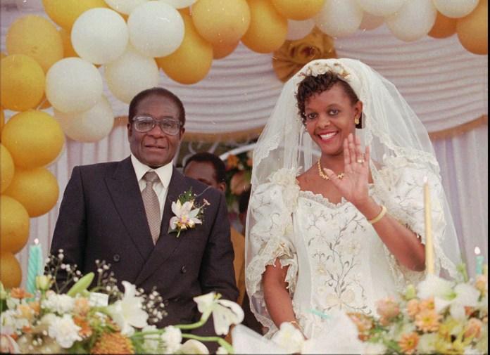 In 1996, he married Grace Marufu at the Kutama Catholic Mission. [File: AP Photo]
