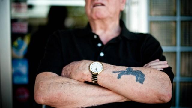 Auschwitz survivor Leon Schagrin