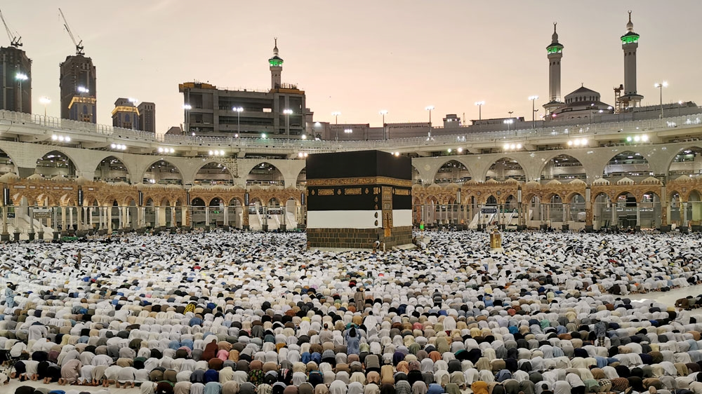 Saudi Arabia Mecca Kaaba