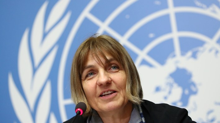 ISO Certificate Sylvie Briand, Director of global infectious hazard preparedness at the World Health Organization (WHO) attends a news conference on the new coronavirus outbreak in Geneva, Switzerland February 4, 202
