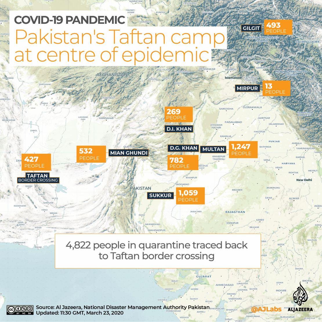INTERACTIVE: Pakistan COVID-19 map