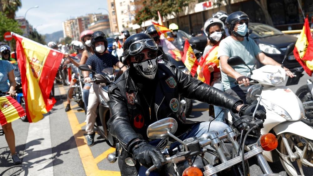 Malaga Spain protest Vox