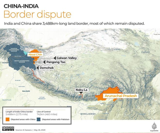 INTERACTIVE: India-China border dispute May 27,2020