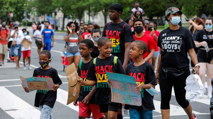 Black mamas march