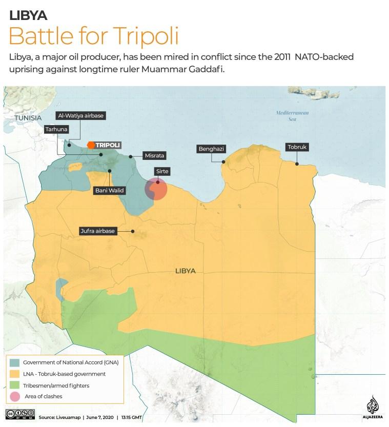 INTERACTIVE: Libya Control map - June 7, 2020 - Revised 2