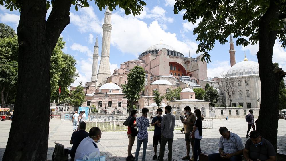 Awaiting of decision for Hagia Sophia trial