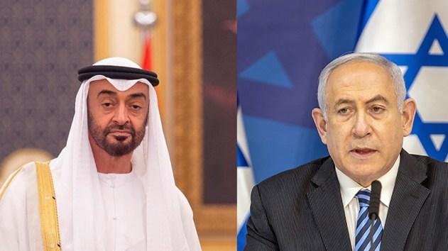 Benjamin Netanyahu and Sheikh Mohammed bin Zayed