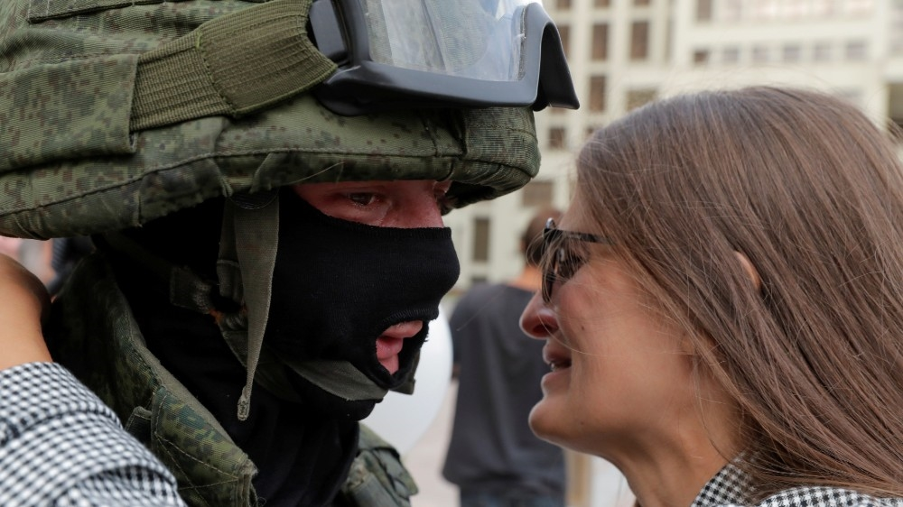 بیلاروس کا احتجاج