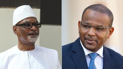 President Ibrahim Boubacar Keita and Prime Minister Boubou Cisse [AFP/EPA]]