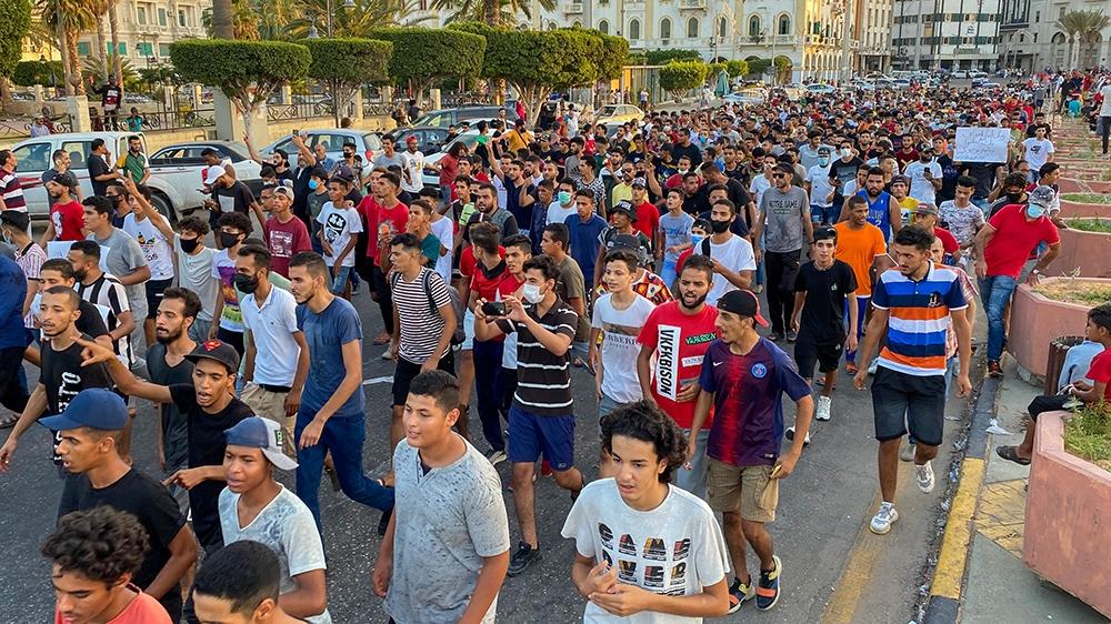 لیبیا کا احتجاج