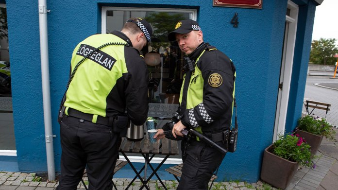 Iceland cops