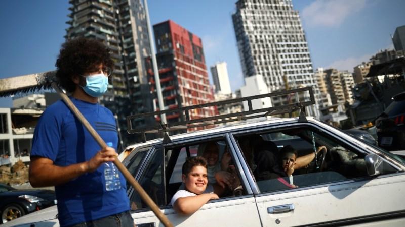 بیروت کے بندرگاہ کے علاقے میں منگل کو ہونے والے دھماکے کے بعد
