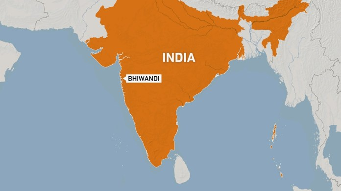 Bhiwandi map, India