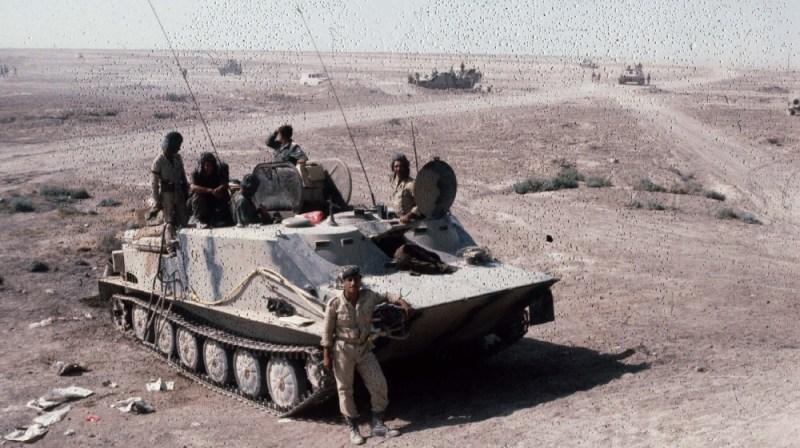 War Iran - Iraq. Iraqi tank. Khorramchahr (Iraq), in October, 1980. FDM-796-19. (Photo by Francoise De Mulder/Roger Viollet via Getty Images)