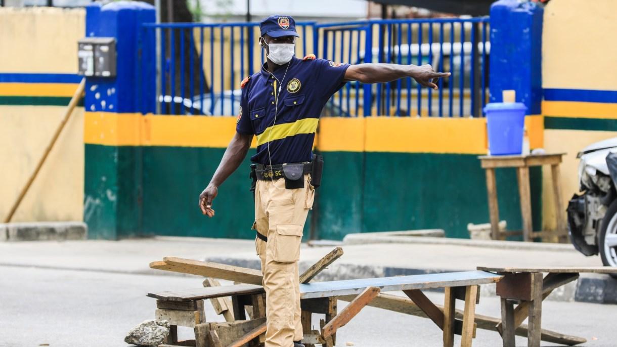Philip Obaji - Nigeria covid police