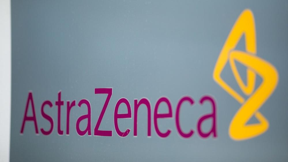 AstraZeneca logo [Bloomberg]