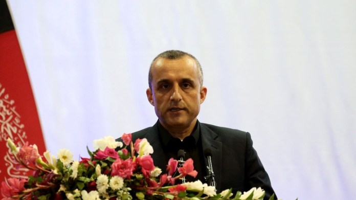 Amrullah Saleh Afghan vice-president