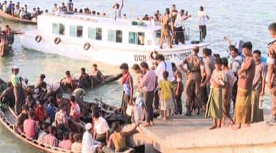 Myanmar's Rohingya forced back to sea