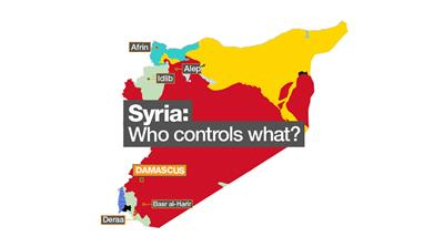 Syria's war: Who controls what?
