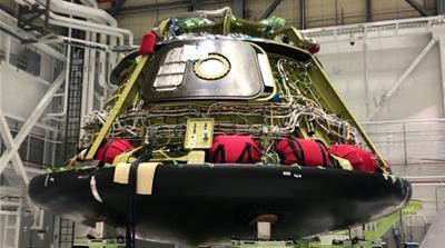 Boeing Co's CST-100 Starliner astronaut capsule