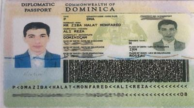 Monfared - Diplomats for Sale