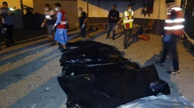 Air raid on Libya migrant camp in Tripoli